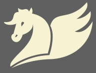 yellow_horse_gray_backgr